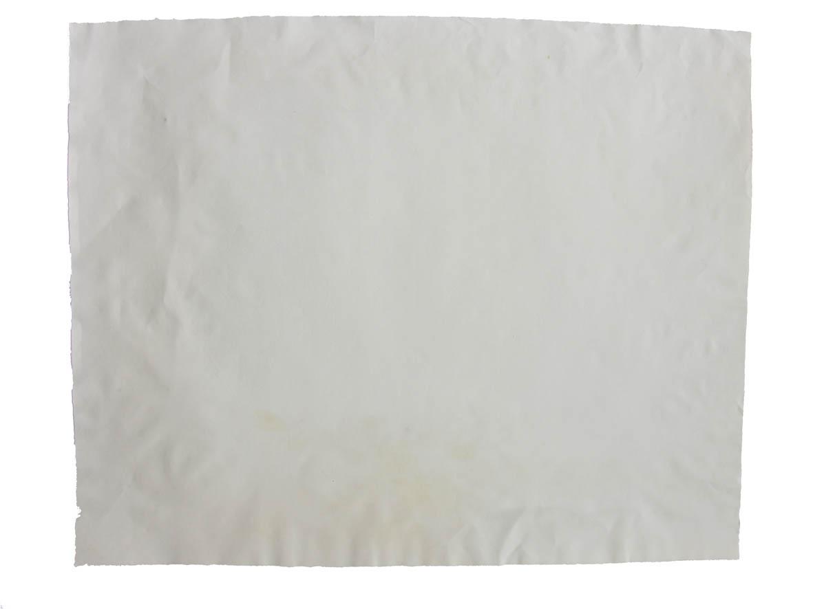 Et hvidt ark papir