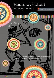 Fastelavns plakat 2009