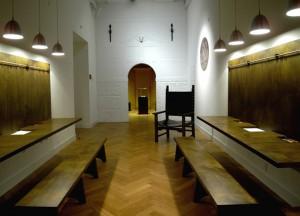 Kabinet- som ses fra tegnepladsen til børnene
