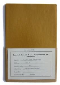 Okker pergament