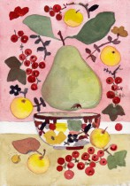 rosa baggrund 1