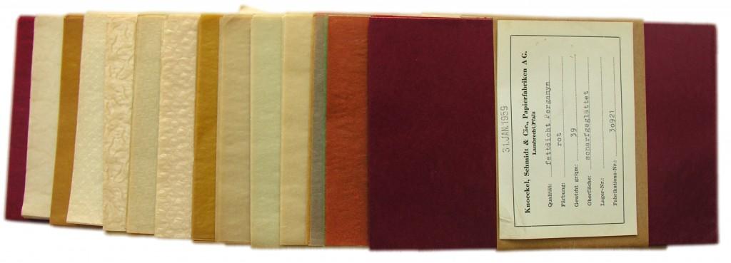 vifte af pergamentpapir